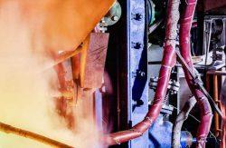 Le nouveau four de réduction de Weser-Metall GmbH