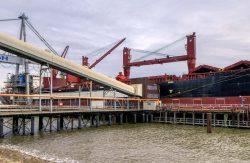 Embarcadère et port Friedrich-August-Hütte