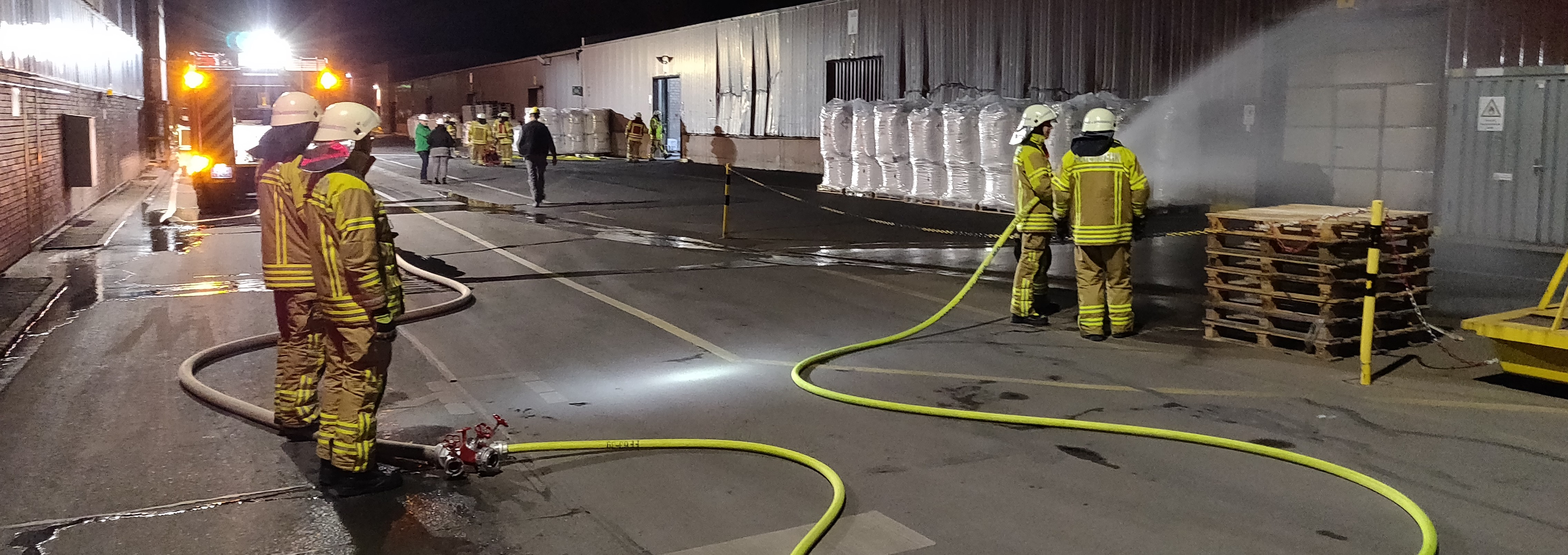 Incident simulation at the Norzinco site