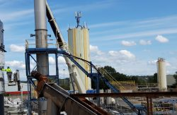 Replacement of the dust collector on the RCX site in Villefranche